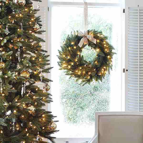 Where To Buy Balsam Hill Christmas Trees: Simple Elegance With The Silverado Slim From Balsam Hill