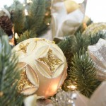 Silver and Gold Ornament Set