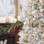 shabby winter frost fraser artificial christmas tree