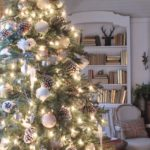 woodland cottage Christmas tree balsam hill