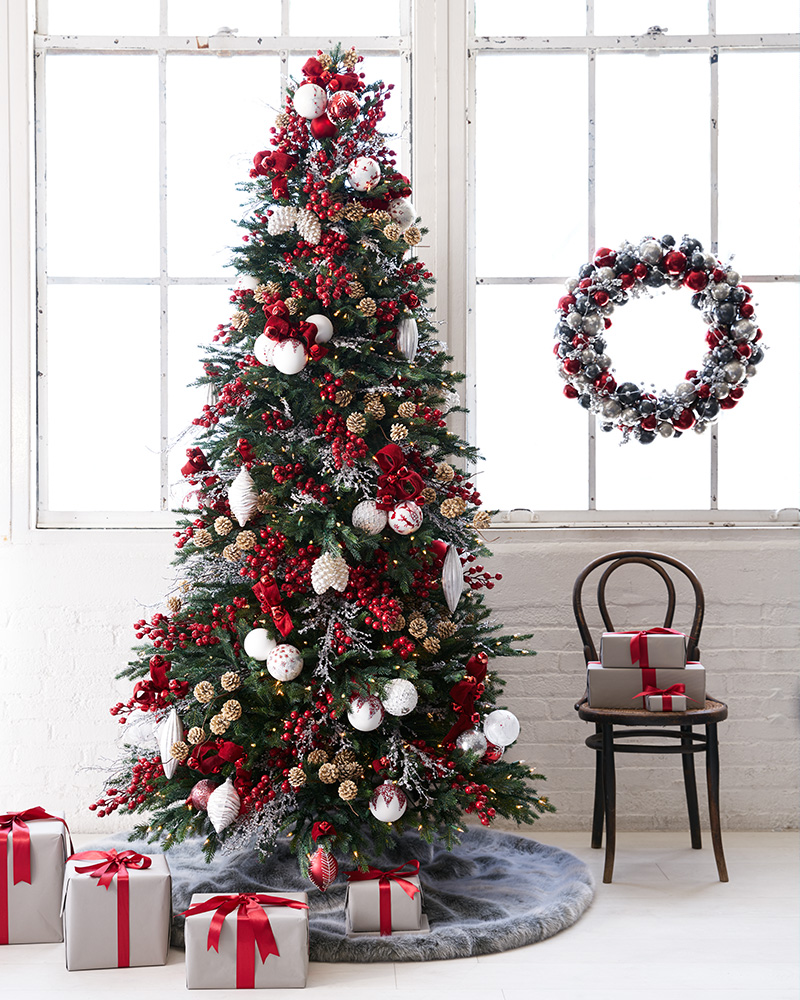 christmas tree decorating ideas - Nordic Christmas Tree Decorations