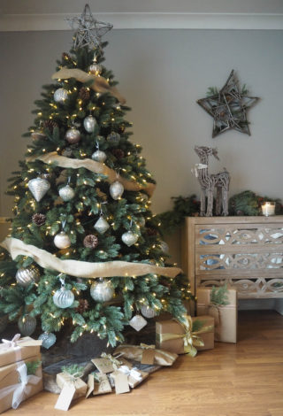 french country christmas tree