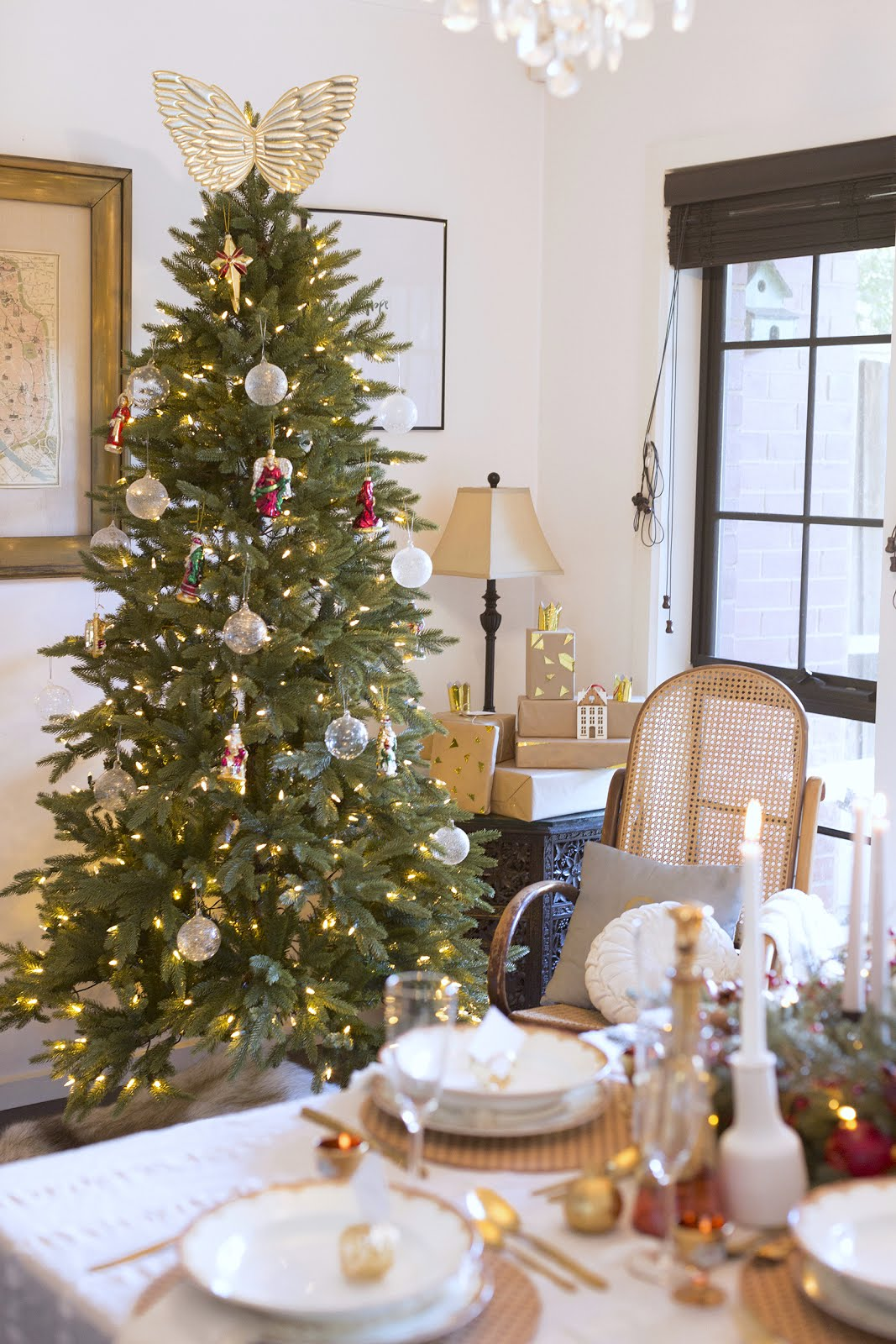 la maison jolie silverado slim christmas tree - Slim Christmas Tree Decorating Ideas
