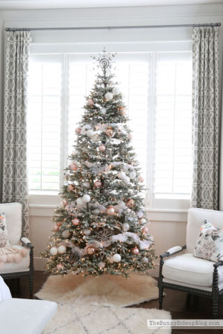Frosted Fir - Winter French Country