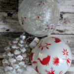 Digital Motherhood - Nordic Frost Bauble Set